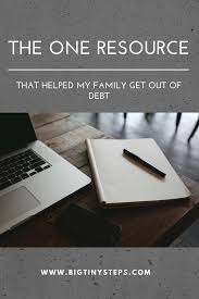 Get Out Of Debt Budget Spreadsheet The One Resource We Used To Eliminate Debt