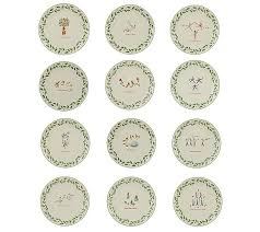lenox 12 12 days of plates page 1 qvc