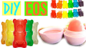 make your own gummy bears diy eos out of gummy bears make eos out of candy