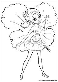 204 barbie coloring pages images drawing art