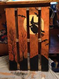 witch pallet fall pallet paintings pinterest pallets
