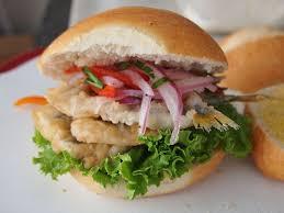 fa軋des cuisine pan con pejerrey smelt sandwiches peruvian food