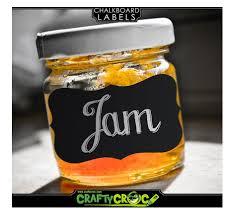 ma cuisine cr駮le 玻璃瓶罐分类黑板贴 外贸热销防水可移除玻璃瓶罐分类黑板贴pp异形花边形