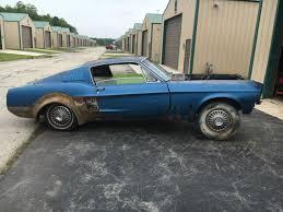 Mustang Fastback Black 1967 Mustang Fastback 289 Manual Trans Originally A Raven Black