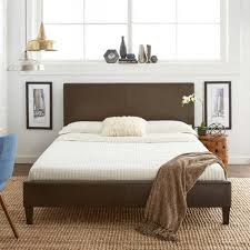 Leather Bed Frame Queen Bed Leather Bed Frame Queen Home Design Ideas