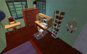 mod the sims swan house from twilight furnished and unfurnished