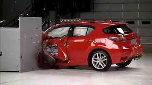 lexus hybrid hatchback price 2015 2017 lexus ct 200h hybrid iihs narrow overlap crash test