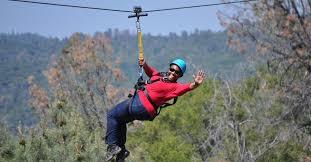 yosemite ziplines adventure ranch mariposa california