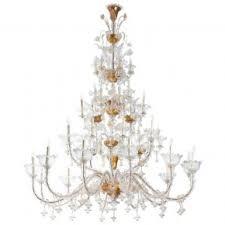 Antique Glass Chandelier Italian Venetian Murano Glass Chandelier Vintage Antique Vintage