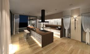 cuisine chaleureuse contemporaine cuisines cuisine chaleureuse bois la cuisine déco contemporaine