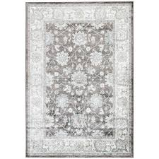 Faded Area Rug Floral Blue Brown Faded Area Rug