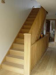 straight stairs design