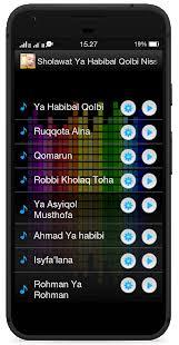 Ya Habibal Qolbi Sholawat Ya Habibal Qolbi Nissa Sabyan Android Apps On Play