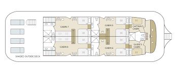 deck floor plan galapagos odyssey deck plans