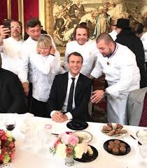 cuisine des grands chefs déjeuner des grands chefs à l elysée avec emmanuel macron