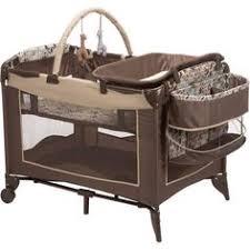 travel bassinet portable crib nursery center changing table