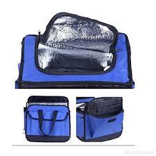 siege auto pliable organiseur de coffre de voiture 2 en 1 sac cooler de stockage pour