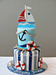 nautical cake nautical sailboat cake dolci e torte sailboat cake