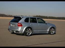 porsche cayenne 2008 turbo 2008 speedart titan btr 550 porsche cayenne turbo rear and side