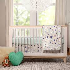Modern Baby Room Furniture by Soft Luxury Nursery Bedding For The Modern Baby