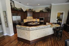 Traditional Kitchen Ideas Flooring Exciting Traditional Kitchen Design With Dark Kitchen