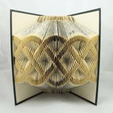 Book Paper Folding - simplified folded book how to fold a book the easy way