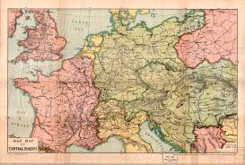 Map Of Central Europe Map And Data Library University Of Toronto Libraries Search Pages