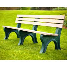 Commercial Outdoor Bench Jayhawk Plastics Commercial Recycled Plastic Central Park Bench