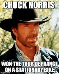 Memes De Chuck Norris - chuck norris tour de france meme