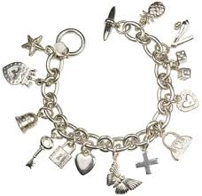 silver charm bracelet the butterfly jewelry i admire