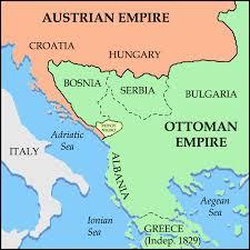 Ottoman Empire Serbia File Balkans 1815 Png Wikimedia Commons