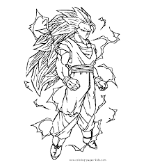 trend coloring pages dragon ball characters 36 picture