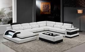 canap d angle en u canapés pour salon moderne canapé d angle avec u en forme sectioanl
