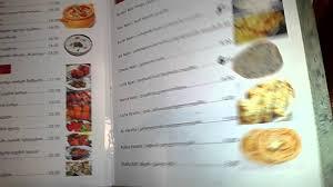 maharaja restaurant menu tbilisi youtube