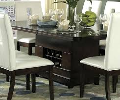 dining room tables with leaf storage corner table base narrow self