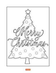 coloring page of christmas tree with presents coloring pages christmas tree with presents for kids thumb