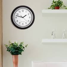 analog atomic wall clock walmart com