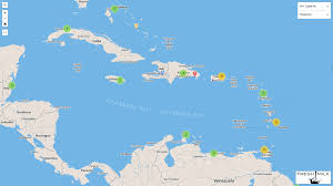 Map Caribbean Sea by The Fresh Milk Map Of Caribbean Art Spaces U2013 Fresh Milk Barbados