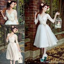 garden wedding dresses discount garden wedding dresses 2017 v neck flower lace