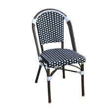 Woven Bistro Chairs Amazon Com Table In A Bag Cbcbw Faux Bamboo All Weather Wicker