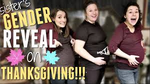 s gender reveal thanksgiving 2016