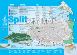Interactive Map Of The World by Interactive Map Of The Town Of Split In Croatia