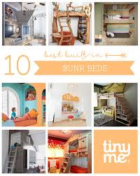 built in bunk beds 10 best built in bunk beds tinyme blog