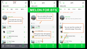 Top Bar Songs Melon For Android U2013 Melon For Bts