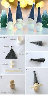 25 unique handmade christmas decorations ideas on pinterest