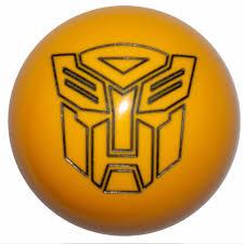 lexus glitter emblem yellow transformer autobot bumble bee shift knob automatic m8x1 25