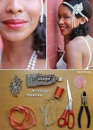 flapper headband diy headband 16 fantastic flapper fashion diy projects