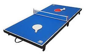 Foldable Ping Pong Table 48in Portable Foldable Ping Pong Table 19 99