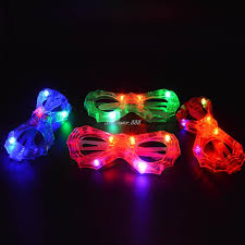 party sunglasses with lights blinking led bat eye glasses party light up flashing party club