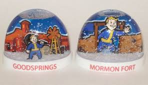 brag about your travels with these fallout new vegas snow globes